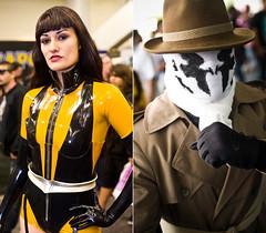 Wondercon '11 – Silk Spectre II & Rorschach // Watchmen