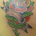 Tatuagem Rosa Old School Tattoo