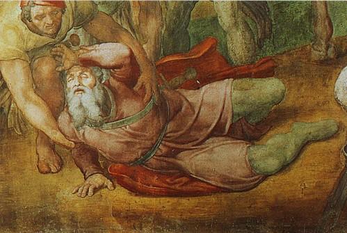 Michelangelo, Conversion of Saul