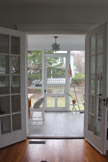 French doors to screen porch flickr photo sharing for French doors back porch