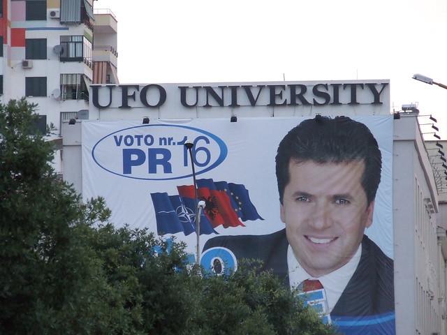 ufo university albania