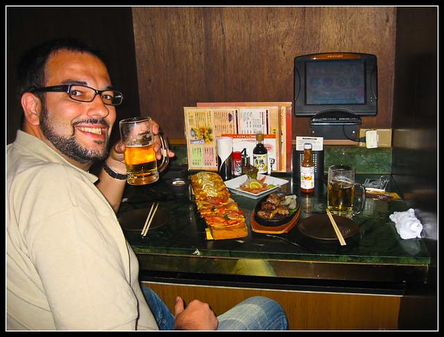 restaurantes con carta electrónica en Japón