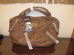 DIESEL bolso bandolera marron 1