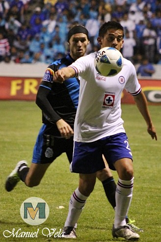 IMG_0183 Puebla FC derrota 2-0 a Cruz Azul Estadio Cuauhtémoc por LAE Manuel Vela