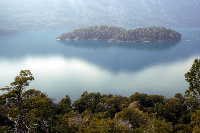 Lago Mascardi - isla Corazón