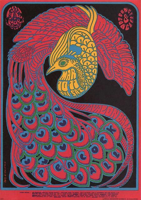Victor Moscoso, Quick silver Avalon ballroom (San francisco), 1967
