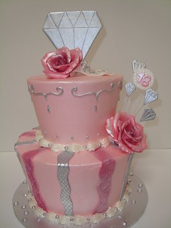 diamond birthday cake