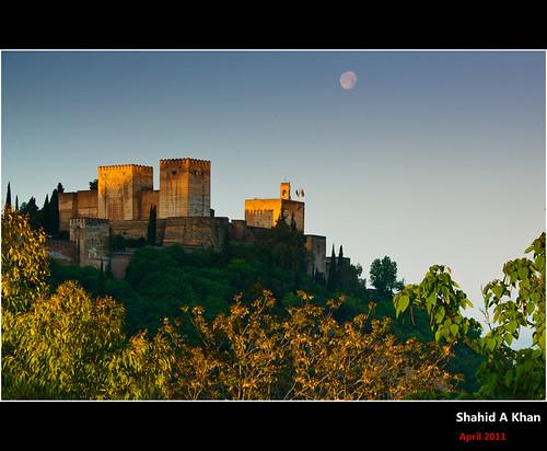 travel sunrise photography spain flickr forsale shot image picture pic images andalucia alhambra granada alcazar nikon18200vr nikond300 sakhan shahidakhan sakhanphotography