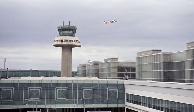 Aeropuerto de El Prat de Barcelona propiedad de Iberia Airlines