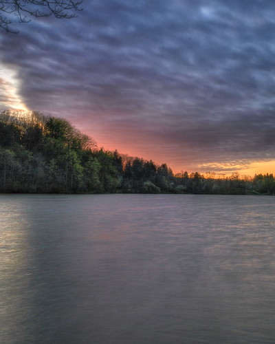 sunset ohio lake nature water landscape nikon hdr hinckley medinacounty photomatix clevelandmetroparks tonemapped hdrsunset nikond90 hinckleyreservoir