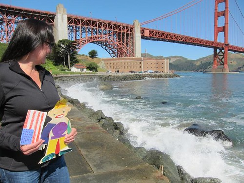 Flat Stanley, San Francisco, Golden Gate Br… IMG_5604