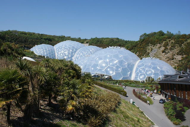Eden Project, Cornwall, April 2011