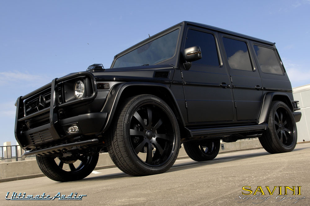 Mercedes g wagon matte black images for Matte mercedes benz