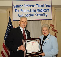 Foxx wins Guardian of Seniors' Rights Award by Rep. Virginia Foxx