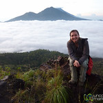 Audrey at Mt. Batur - Bali, Indonesia