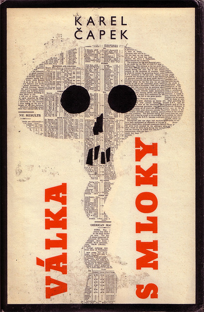 Czechoslovak book cover (1965)