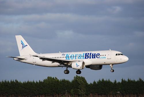 SU-KBE A320 Koral Blue