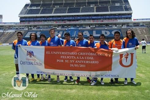 Sony dsc 15 aniversario de la udal partido de futbol for Puerta 5b estadio universitario