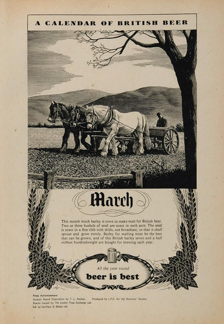 British-beer-calendar-1938-03March