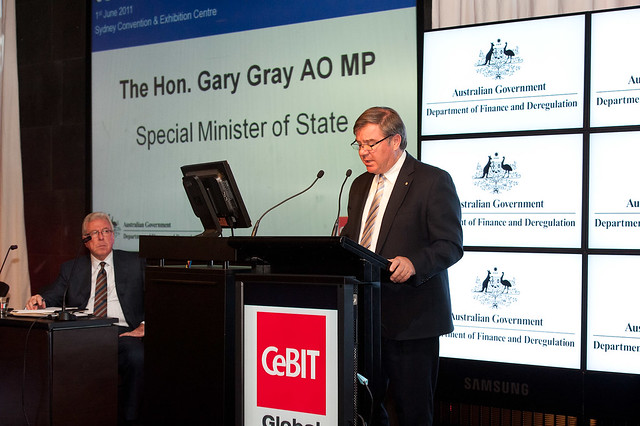 CeBIT Australia 2011 - eGovernment Forum - 01/06/2011