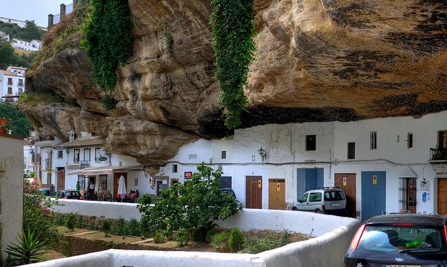 Panorámica Setenil de las Bodegas, Cádiz