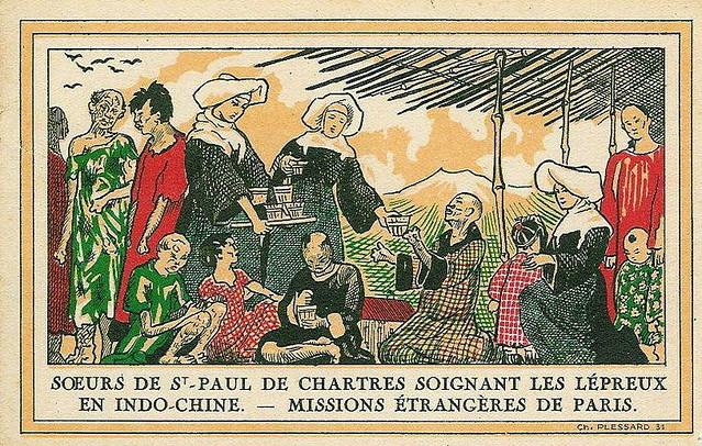 Les Sœurs de Saint Paul à Saigon