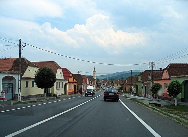 Village in Transylvania, Romania, 2011. Photo: Andrea Gerak