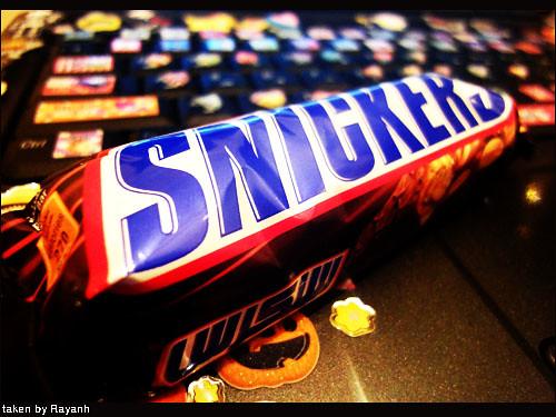 سنكرز عشق الشوكولاته