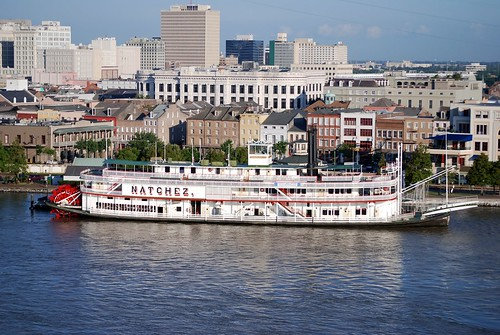 New Orleans: Last Authentic Mississippi River Steamboat  (EXPLORED)