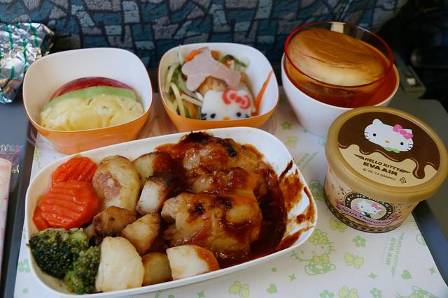長榮航空 Hello Kitty 成人餐