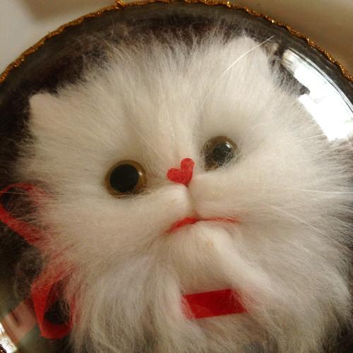 Amazing Vintage Plate-Cat
