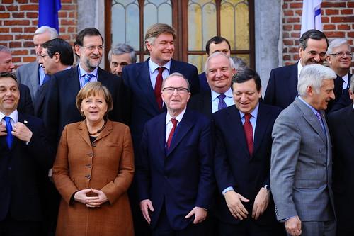 Reunion de lideres europeos