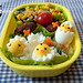 Chicks hatching bento
