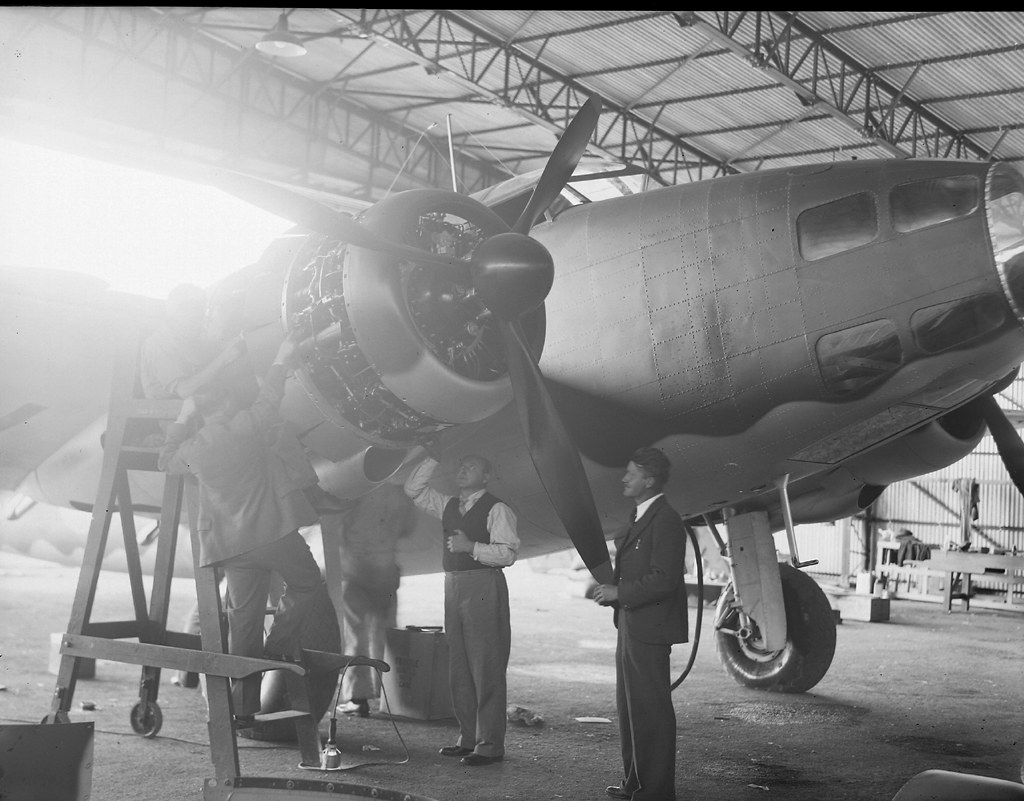 Lockheed Hudson Bomber
