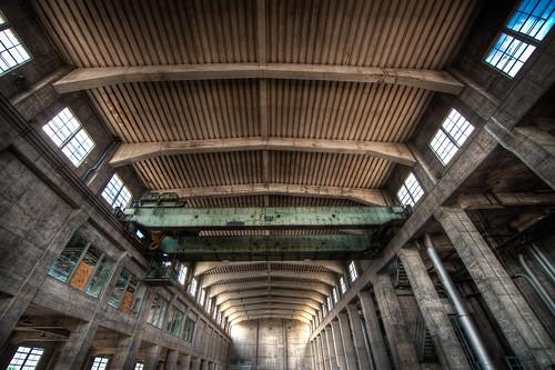 roof architecture austin industrial interior ceiling turbinehall powerplant austinenergy urbex txtexas seaholmpowerplant cityofaustin