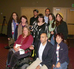 Ali Abunimah with CPJME & Community Members