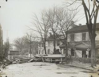 Stratford Avenue, Dayton, OH - 1913 Flood