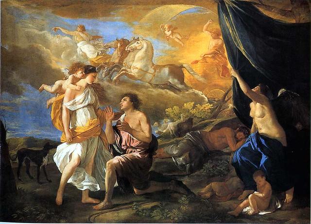Poussin, Diane et Endymion, 1630
