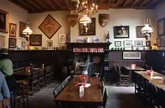 restaurant, room, interior design, tavern,