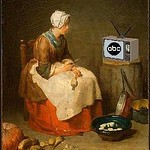 Soap Opera in the Kitchen, after Jean-Baptiste-Siméon Chardin