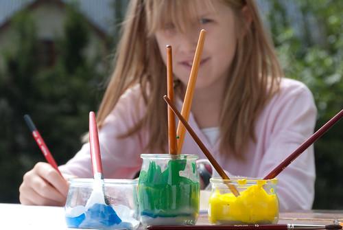 enfant peinture © Alain Bachellier sur Flickr