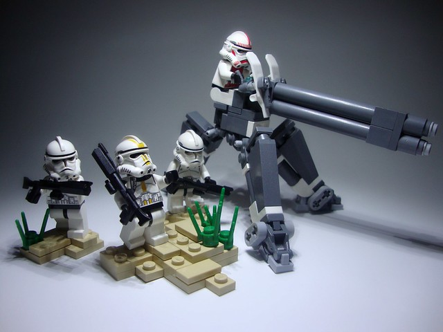 'umphed' 7655 Clone Trooper Battlepack
