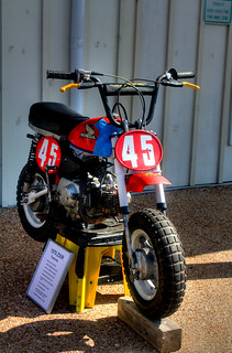 Customized 1979 Honda Z50R