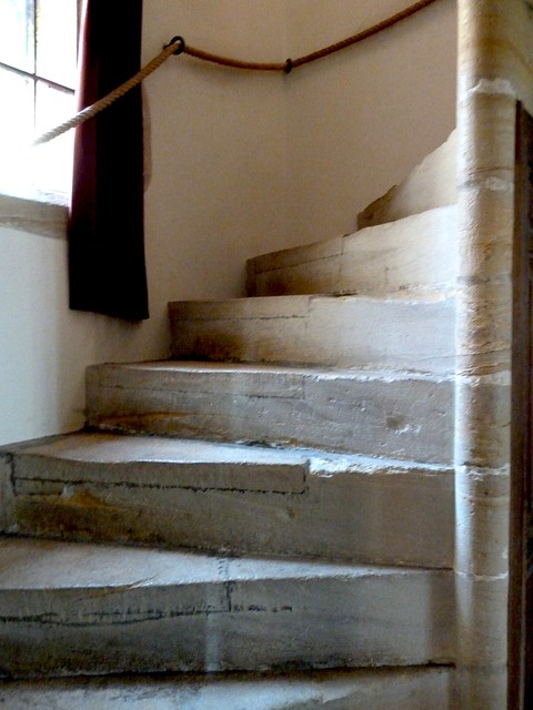 Architectural salvage | Gardens | Stone spiral stairs