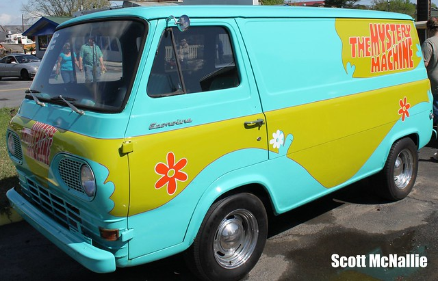 Scooby Doo Mystery Machine Van http://www.flickr.com/photos/racingvoice/5639414696/