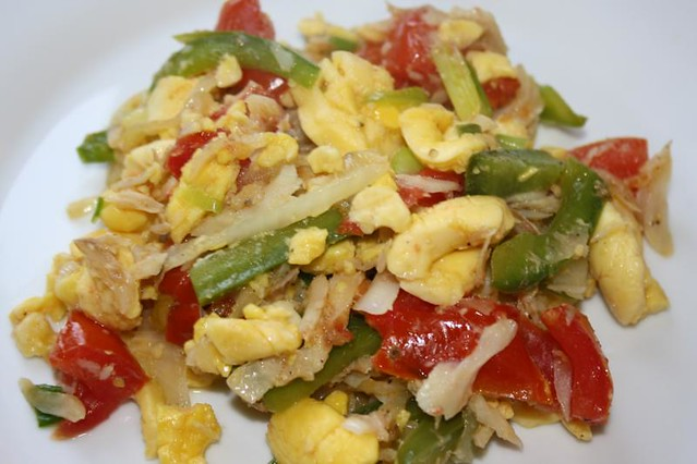 Jamaican ackee and saltfish flickr photo sharing for Jamaican salt fish