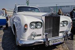 automobile, rolls-royce, rolls-royce phantom vi, rolls-royce phantom v, vehicle, antique car, vintage car, land vehicle, luxury vehicle,