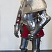 Armor including Chanfron for a horse commissioned by Prince Elector Augustus of Saxony for use in the German joust of war 1575 CE Steel (3)