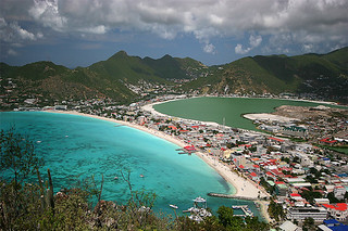 Philipsburg from above