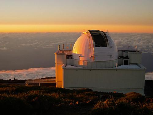 Telescopio William Herschel , en el Roque de los Muchachos , 2396 mt ,en la isla de La Palma (islas canarias )   .Img1522 a r